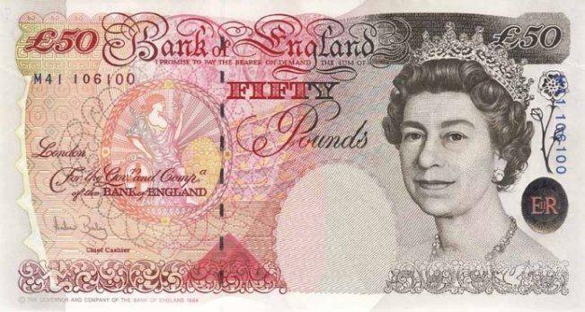 Банк Англии не планирует отказываться от банкноты крупного номинала